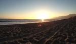 Sunset at Westward Beach, Malibu