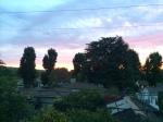 Oranges, blues, pink