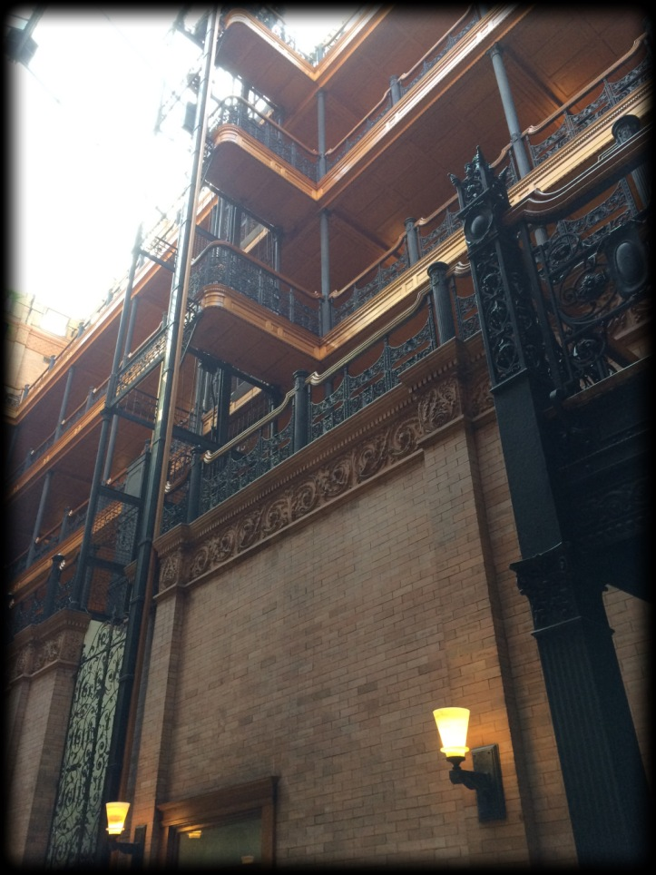 Bradbury Bldg Downtown Los Angeles
