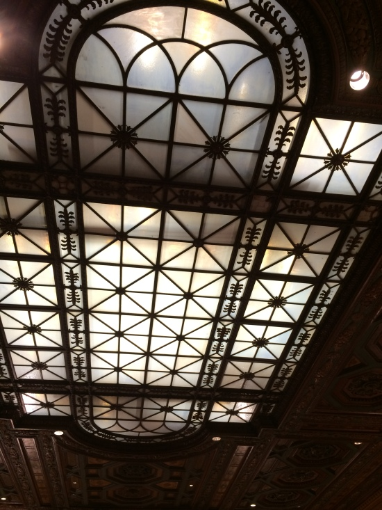Now that's a ceiling...