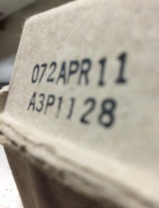 Egg carton expiration date