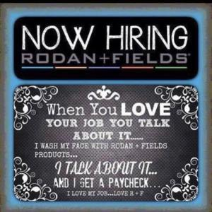 Rodan + Fields - Now Hiring!