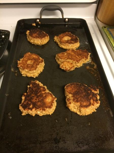 PB Protein Pancakes