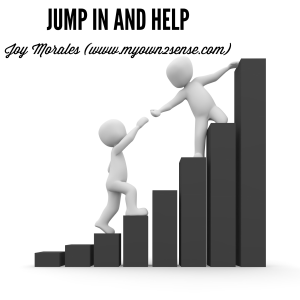 Jump In and Help